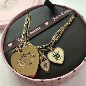 Juicy couture 3 in 1 necklace